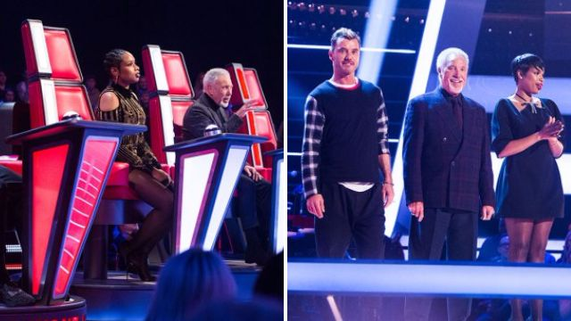 The Voice UK judges finally got a change of clothes as the battle rounds kicked off
