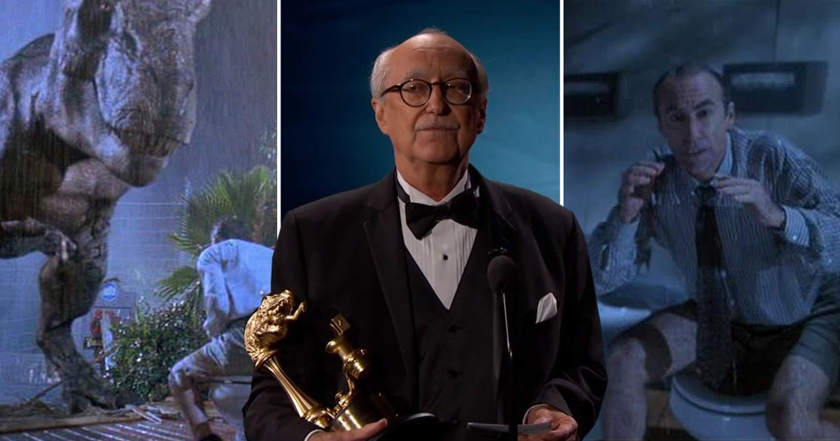 Who needs the Oscars? The toilet guy from Jurassic Park receives Lifetime Achievement Award
