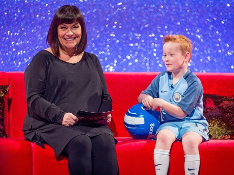 Little Big Shots preview: Watch Dawn French meet an adorable seven-year-old football fanatic