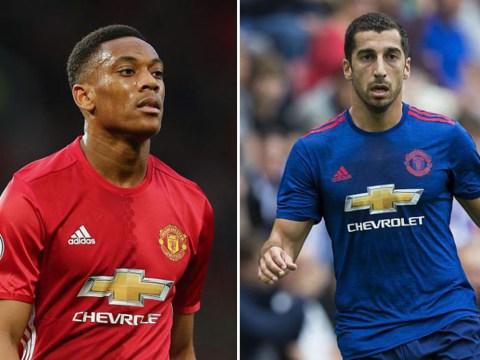 Anthony Martial v Henrikh Mkhitaryan: Is Jose Mourinho making the right call over his Man Utd forwards?