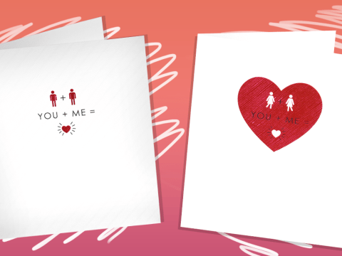 Sainsbury's is now selling Valentine's Day cards for same-sex couples