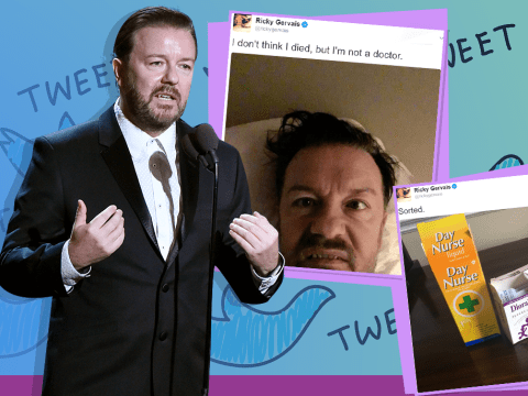 'Heart attack' scare sees Ricky Gervais halt Bristol performance