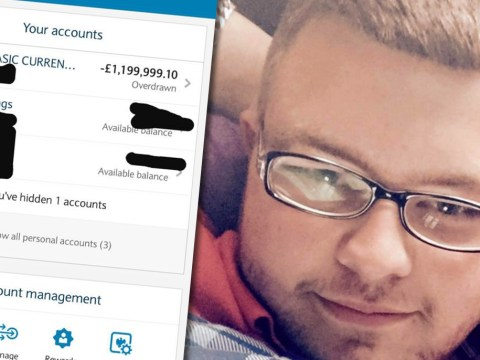 Unemployed man wakes up to find he's £1.2 million overdrawn