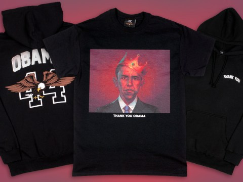 This ThankUObama clothing line will keep you close to the Obamas forever