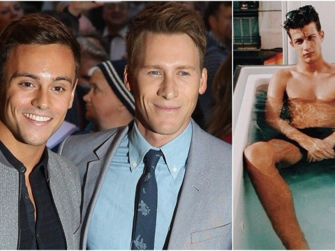 Tom Daley had '18-month fling with 6ft 6in male model behind the back of fiance Dustin Lance Black'