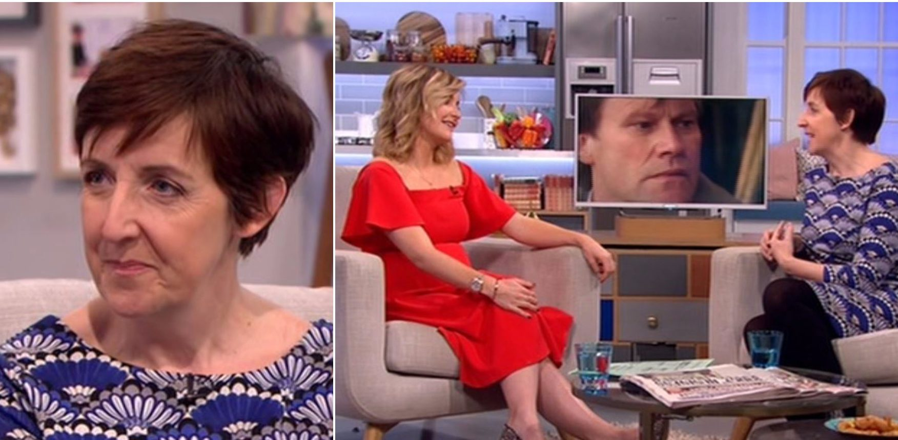 Lorraine viewers confused as Broadchurch interview with ex-Corrie star Julie Hesmondhalgh is cut off by ad break