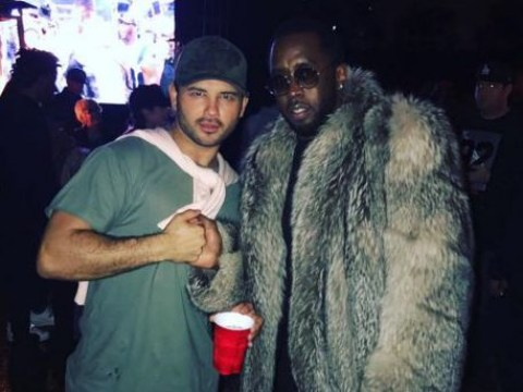 Former Corrie star Ryan Thomas is hanging out with Sean Combs and it's very surprising