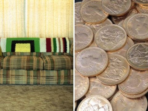 Coins behind someone's sofa turned out to be worth £30,000