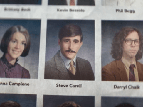 Experience high school with Steve Carrell and Tina Fey with this throwback Super Bowl ad