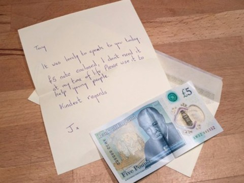 Woman donates rare £5 note, worth up to £50,000, to charity