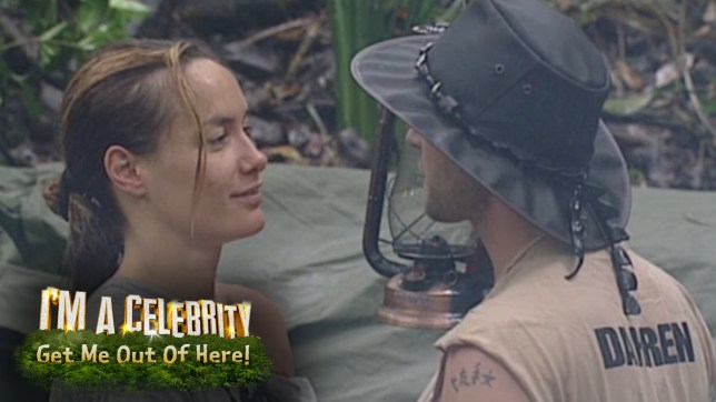 Tara found love with Darren Day on I'm A Celebrity (Picture: ITV)