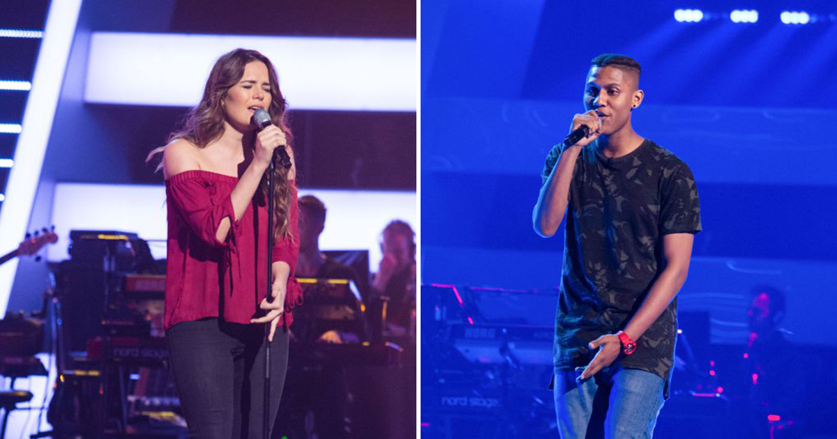 Which of these two The Voice contestants would you turn for?