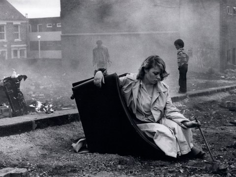Powerful photo series captures unemployed youths of Thatcher's Britain