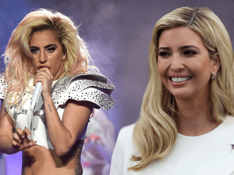 Lady Gaga's subtle political message at the Super Bowl was completely missed by Ivanka Trump