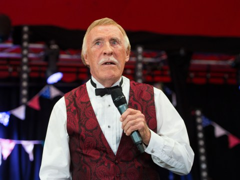 'Frail' Bruce Forsyth in 'good spirits' despite concerns he will never perform live again