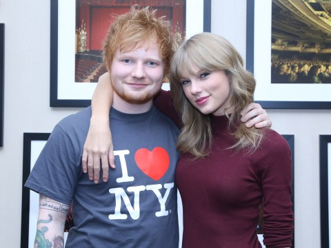 Taylor Swift gushes over pal Ed Sheeran as he appears on TIME's 100 most influential people list