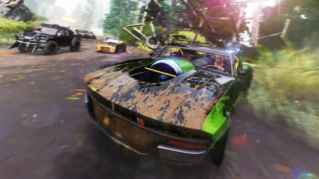 FlatOut 4 (PS4) - Yes, really. This is a PlayStation 4 game
