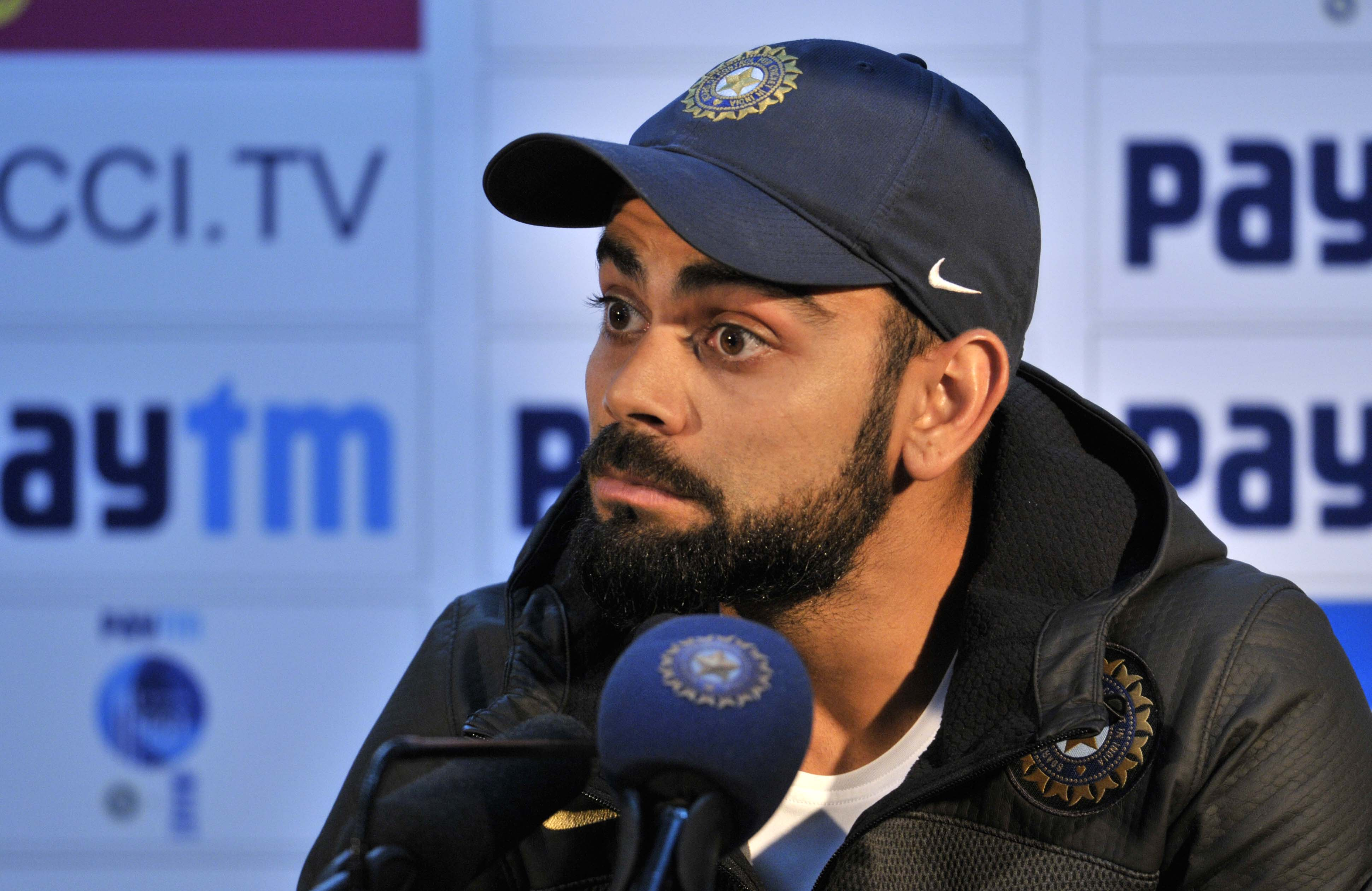 Virat Kohli bizarrely blames softness of ball as Australia salvage draw against India
