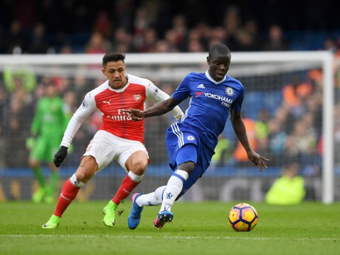 N'Golo Kante beats Alexis Sanchez to Player of the Year at London Football Awards