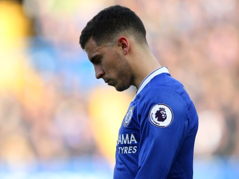 Antonio Conte reveals Eden Hazard injury concern after collision with teammate in training