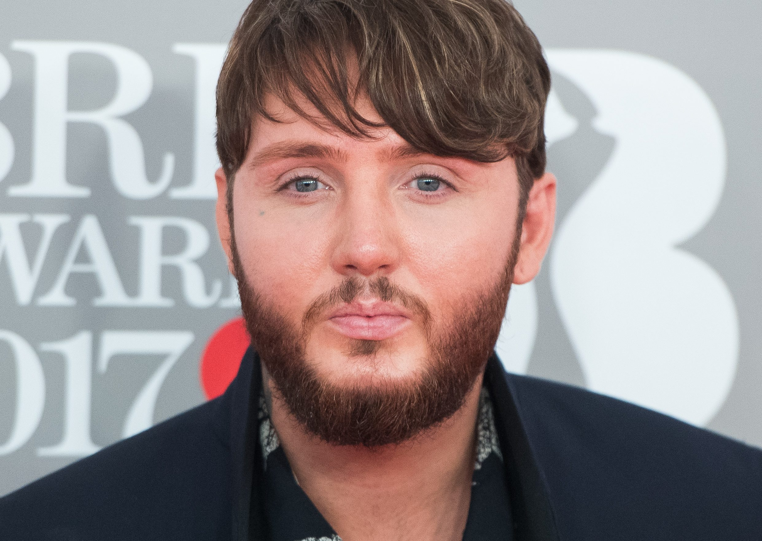 LONDON, ENGLAND - FEBRUARY 22: EDITORIAL USE ONLY. James Arthur attends The BRIT Awards 2017 at The O2 Arena on February 22, 2017 in London, England. (Photo by Samir Hussein/Samir Hussein/Redferns)