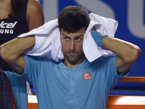 Novak Djokovic says just 12 words in frosty press conference after shock Nick Kyrgios loss