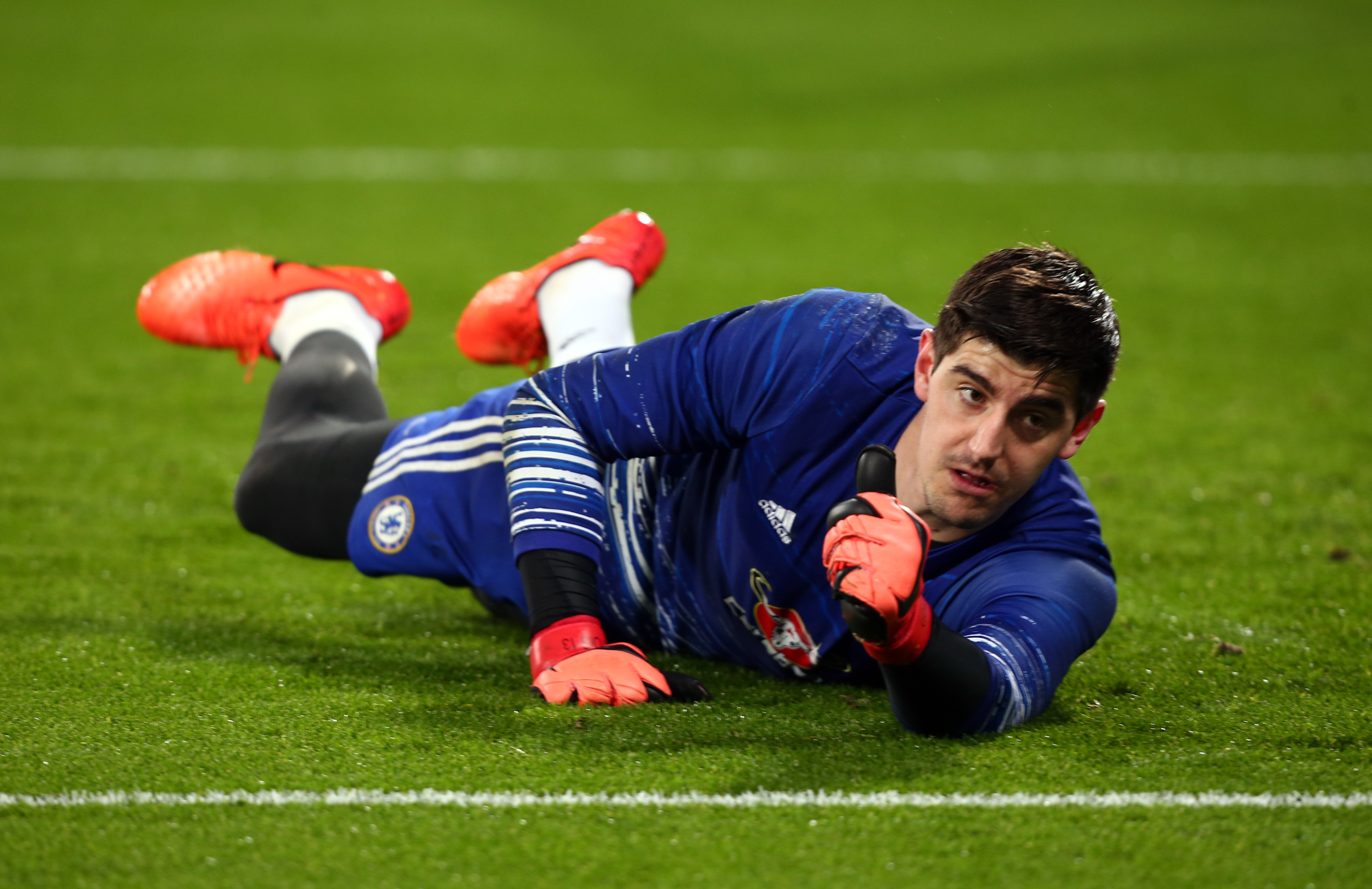 Thibaut Courtois admits Chelsea teammate Diego Costa cons the officials