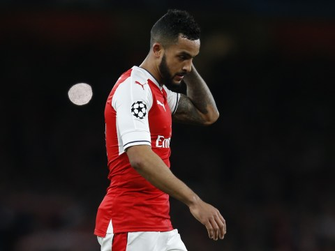 Theo Walcott admits to Arsenal in-fighting amid wretched run of form