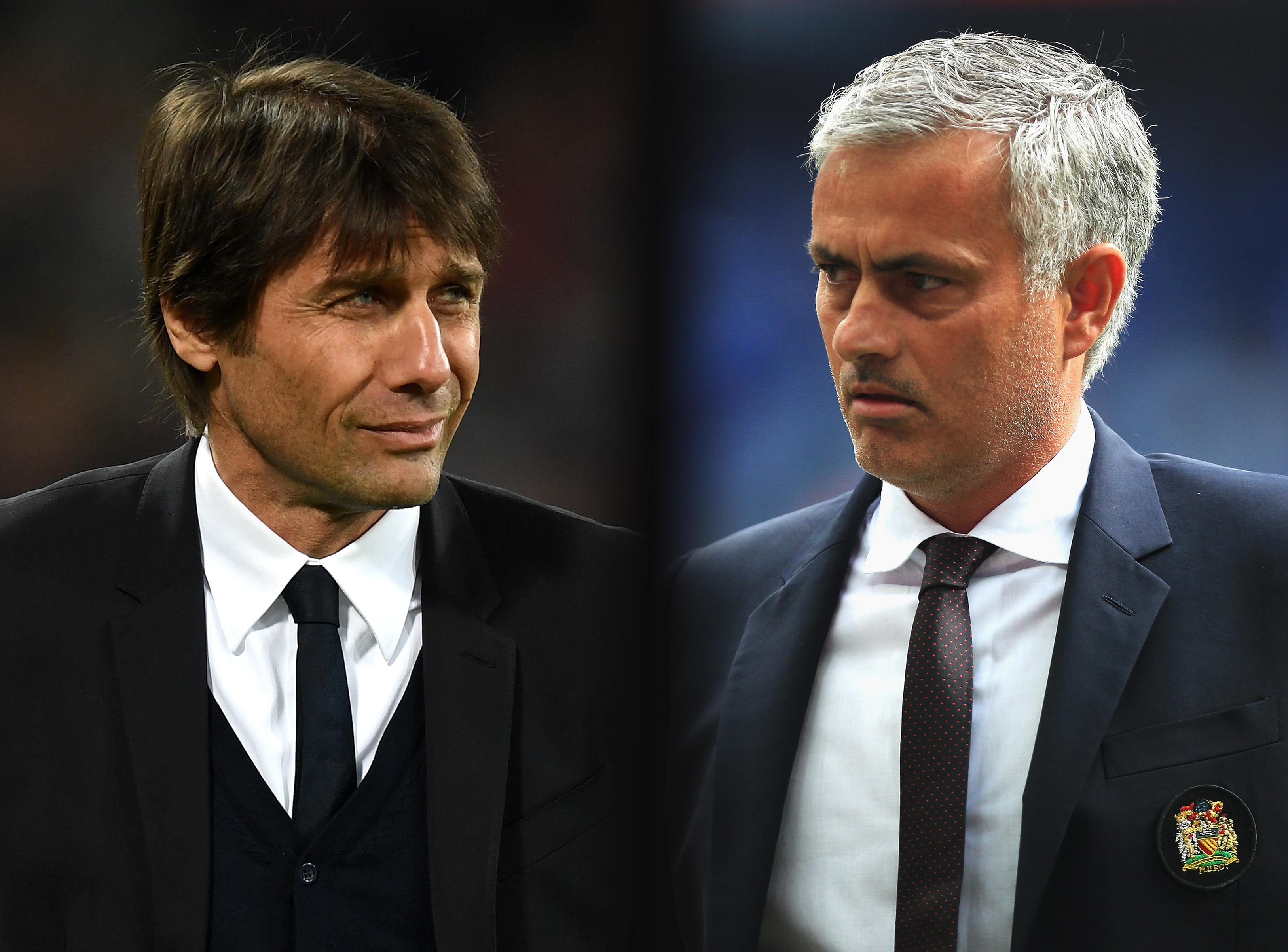 Antonio Conte won't blame Jose Mourinho for Romelu Lukaku and Kevin De Bruyne Chelsea exits