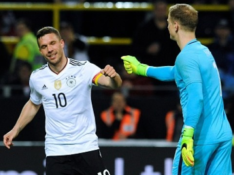 What Joe Hart said to Lukas Podolski after his thunderbolt in Germany vs England clash