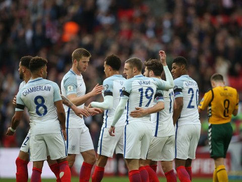 England 2 Lithuania 0: Jermain Defoe and Jamie Vardy on target in World Cup qualifier