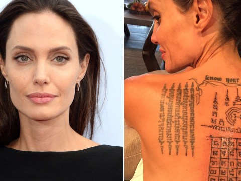 Angelina Jolie was 'symbolically bound' to Brad Pitt by tattoos months before they split