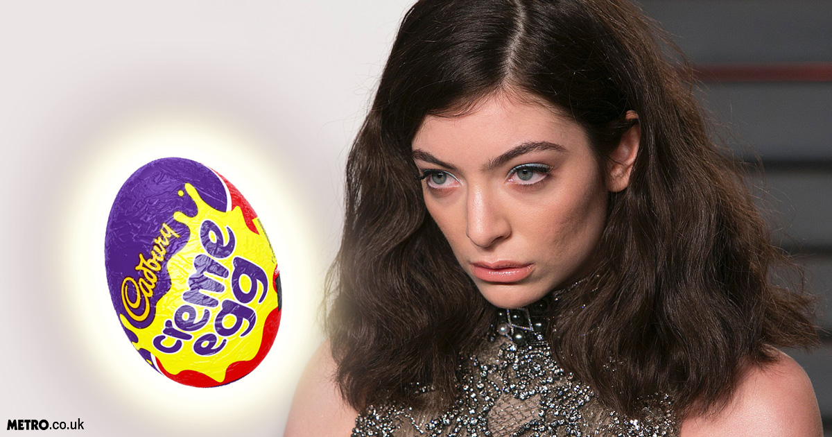Lorde tweets she really wants to eat a Creme Egg but the internet got very confused