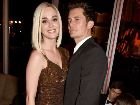 Katy Perry and Orlando Bloom bump into each other at mutual friend's party and things 'weren't too friendly'
