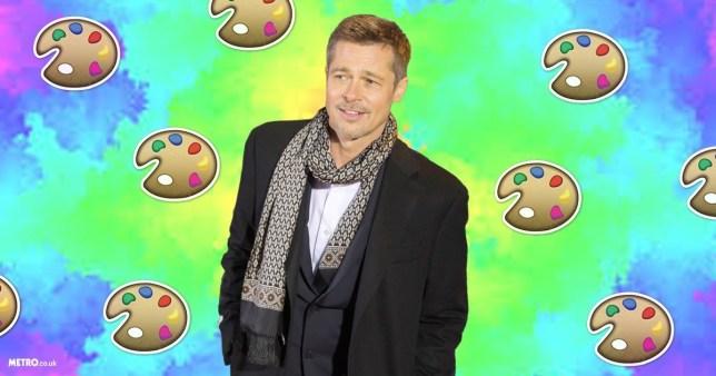 Brad Pitt missed the Oscars because art (Getty/Metro)