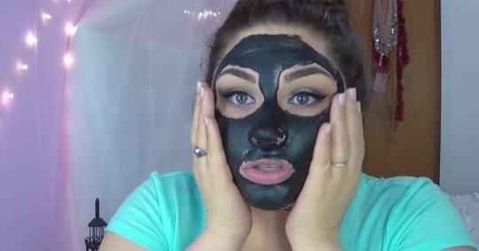 Don't use those black peel-off face masks everyone's