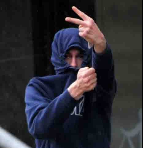 A salesman who yelled ¿obscene¿ abuse at a 13-year-old girl¿s funeral cortege has avoided jail.nnDavid Noutch, 22, shouted in front of mourners outside the church: ¿I¿m going to burn your house down. There will be another funeral.¿nnHe started shouting abuse from his first-floor flat after the funeral across the road at Stockton Parish Church on High Street.nnMourners had been attending the funeral of Sammy Taylor, 13, who died suddenly in December 2015, when Noutch¿s outbursts invaded the solemn occasion at 10.45am.nnDavid Noutch, 22, of Stockton, who was at Teesside magistrates court and given a suspended prison sentence for affray.nID'd by Gareth Lightfoot.