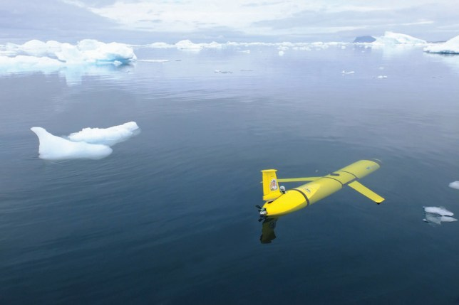 Embargoed to 0600 Monday March 6 Undated handout artist's impression issued by the Natural Environment Research Council (NERC) showing the type of remote-control sub-sea vehicle that is to be named Boaty McBoatface. The submarine is to join scientists from the British Antarctic Survey (BAS) to study some of the deepest and coldest ocean waters on Earth. PRESS ASSOCIATION Photo. Issue date: Monday March 13, 2017. See PA story ENVIRONMENT Boaty. Photo credit should read: NERC/PA Wire NOTE TO EDITORS: This handout photo may only be used in for editorial reporting purposes for the contemporaneous illustration of events, things or the people in the image or facts mentioned in the caption. Reuse of the picture may require further permission from the copyright holder.