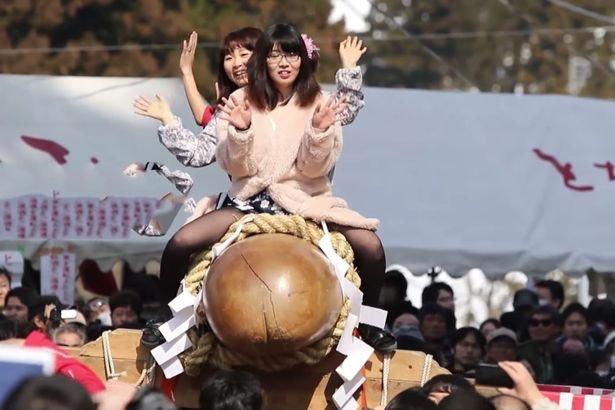 Hodare penis festival in Japan