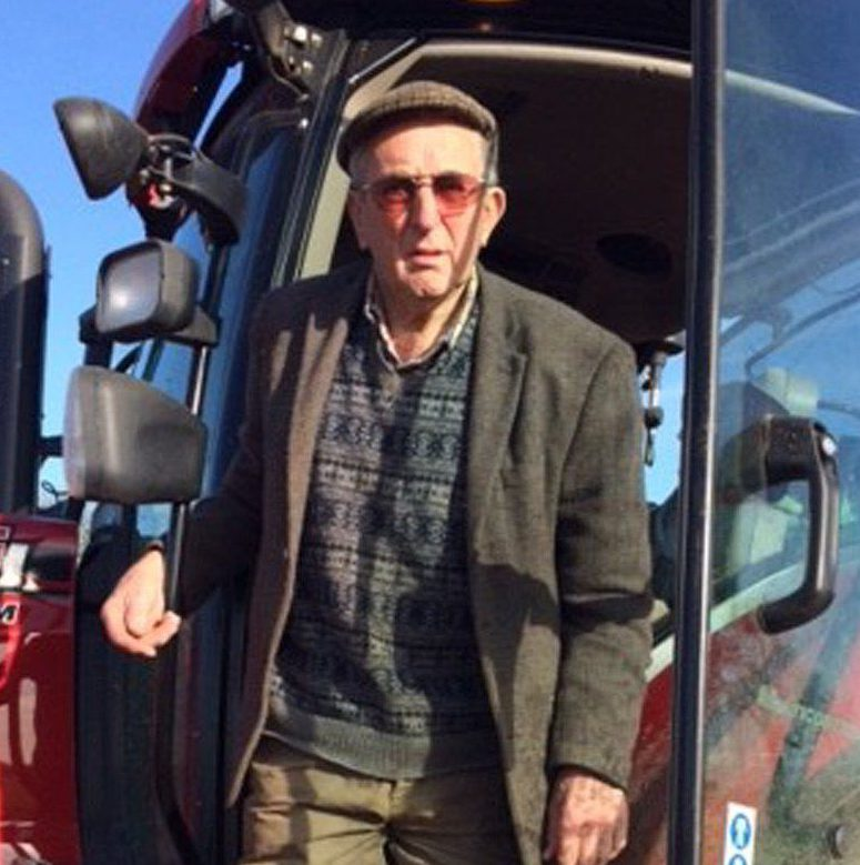 Handout family photo of Kenneth Hugill, an 83-year-old farmer who was cleared of shooting a suspected thief on his land, as his family have welcomed a fund to pay his £30,000 legal costs. PRESS ASSOCIATION Photo. Issue date: Monday March 13, 2017. Lawyer Nick Freeman set up the fundraising page for Kenneth Hugill after a jury at Hull Crown Court found the pensioner not guilty of grievous bodily harm in just 24 minutes last week. See PA story LEGAL Farmer. Photo credit should read: David Hugill/PA Wire NOTE TO EDITORS: This handout photo may only be used in for editorial reporting purposes for the contemporaneous illustration of events, things or the people in the image or facts mentioned in the caption. Reuse of the picture may require further permission from the copyright holder.