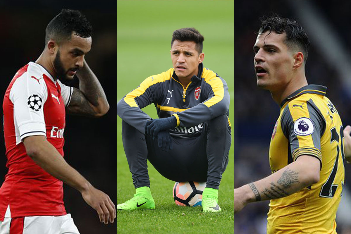 Arsenal open up vote for the most depressing Player of the Month award of the season