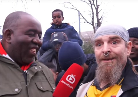 Arsenal Fan Tv Bully Claims Solution To Problems Is Better Shin Pads Metro News