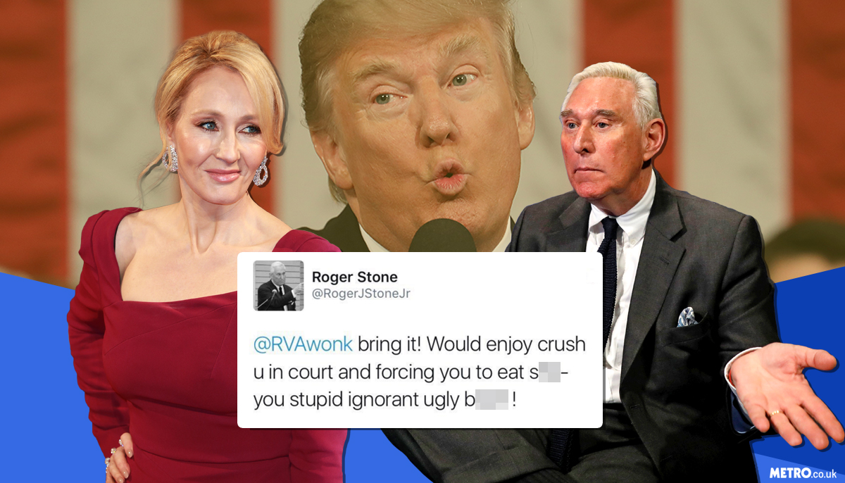 JK Rowling steps in after Trump advisor tells critic to 'eat sh*t you ugly b*tch'