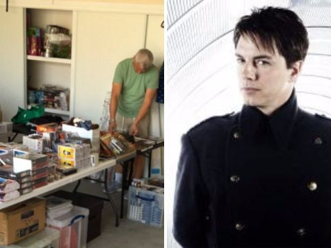 Torchwood's John Barrowman is throwing an epic Doctor Who garage sale and we're all invited