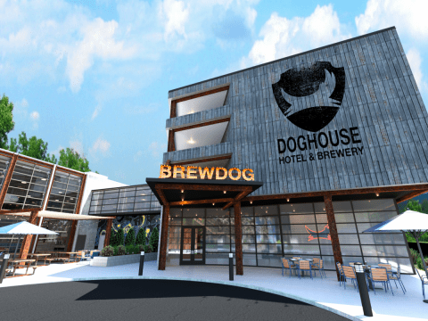 BrewDog is planning to open a hotel in America with beer-filled hot tubs