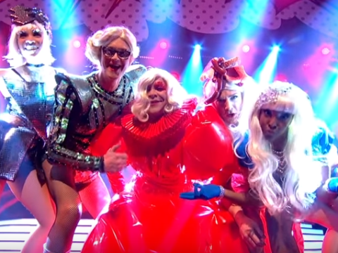 BBC slammed for cutting out LGBT-positive Born This Way lyrics on Let's Sing And Dance For Comic Relief
