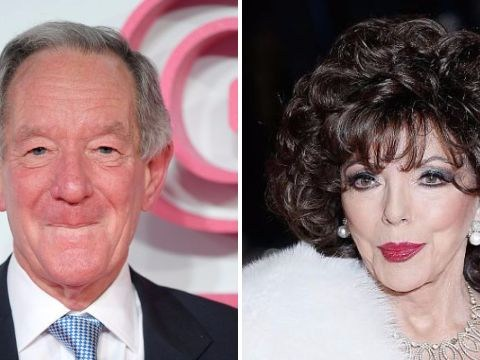 'Buerk by name, Buerk by nature': Joan Collins responds to Michael Buerk's interview like a true diva