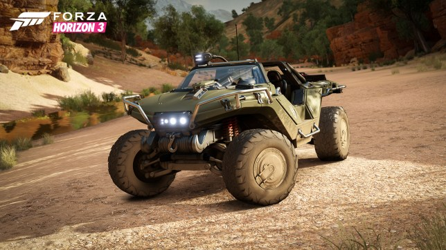 You don't even need Halo to enjoy the Warthog