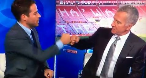 Graeme Souness and Jamie Redknapp mock Harry Kane and Dele Alli celebration