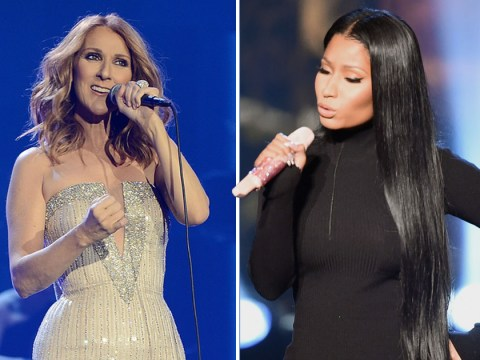 Nicki Minaj 'singing' along to Celine Dion is something to behold – even the power ballad queen loves it